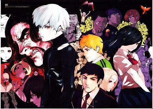 Sui Ishida, Tokyo Ghoul, Tokyo Ghoul [zakki], Yomo Renji, Kazuichi Banjo