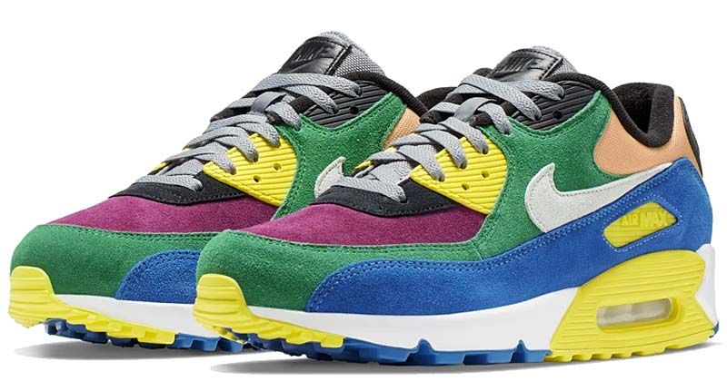 Nike Men Air Max 90 Qs (lucid green barely grey game royal)