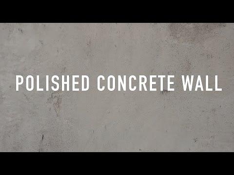 10 Polished Concrete Wall Youtube Faux Concrete Wall Concrete Wall Fake Concrete Wall