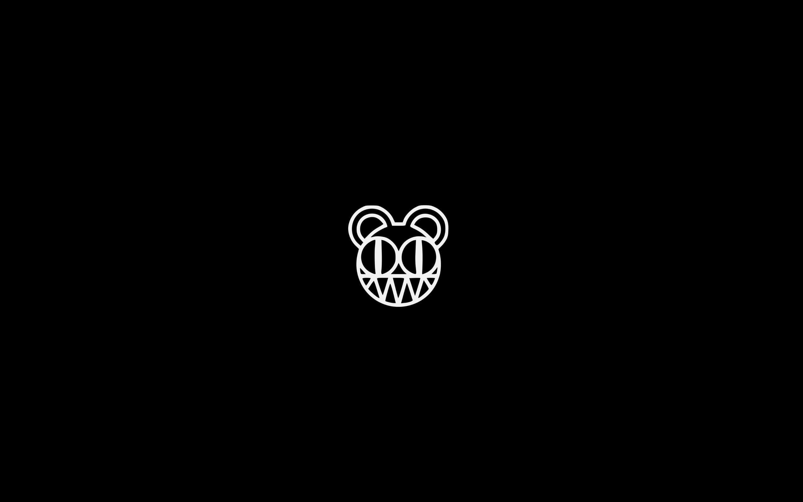 Radiohead Bear 2560x1600 Wallpapers Pinterest Wallpaper R