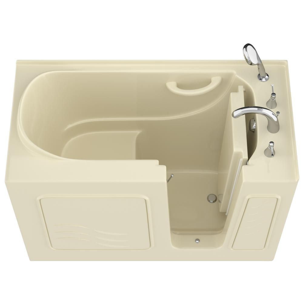 Universal Tubs Hd Series 26 In X 53 In Right Drain Quick Fill