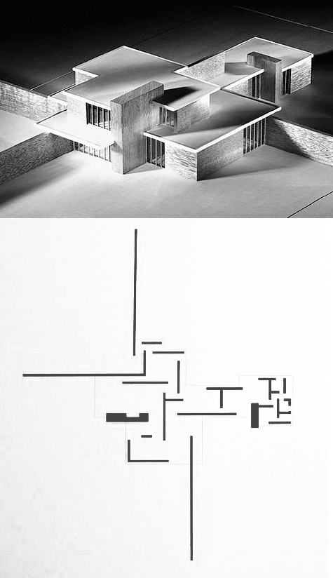 Brick Country House Mies Van Der Rohe Housing Pinterest