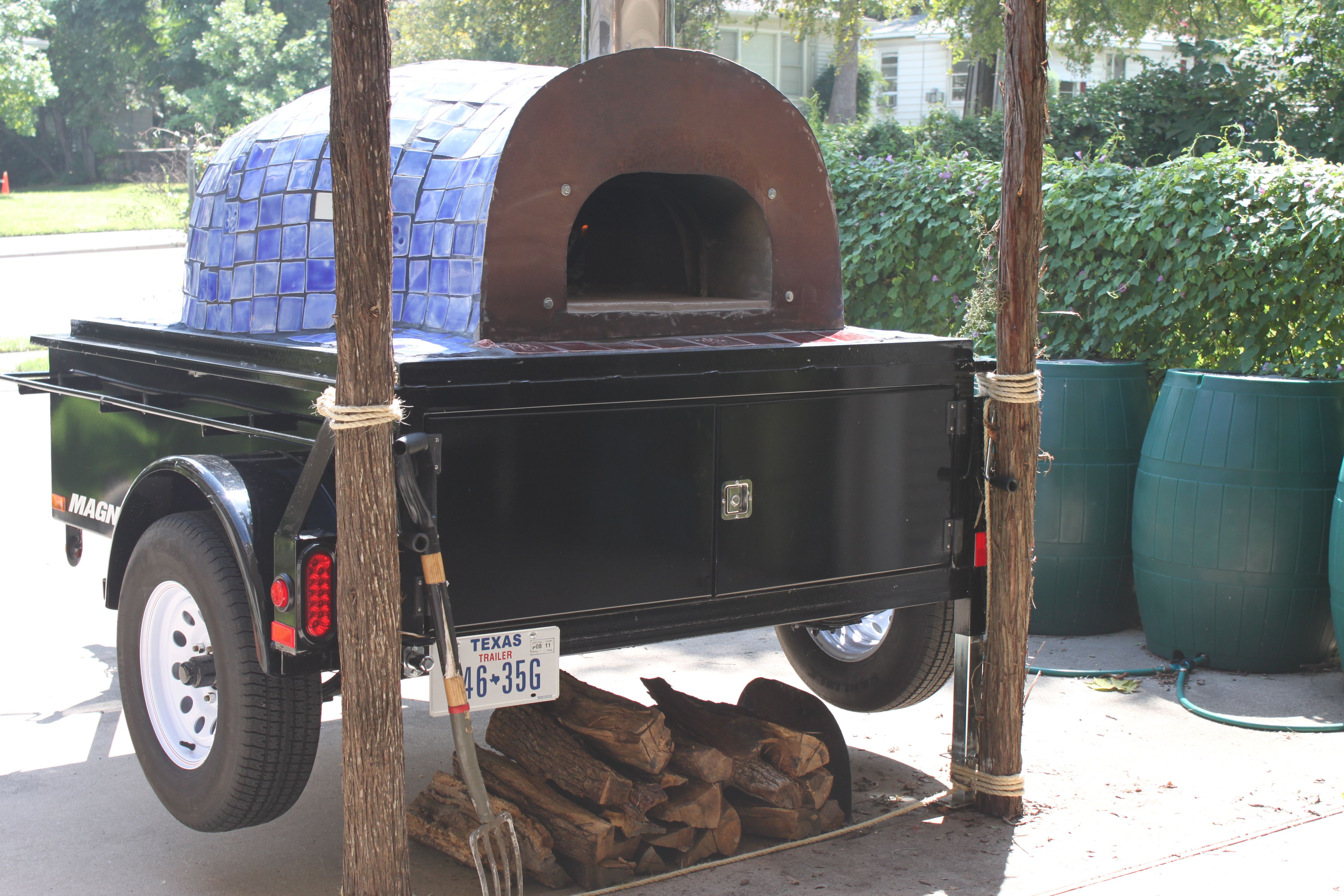 Portable wood fired pizza oven for sale - Pizza Wood Fired