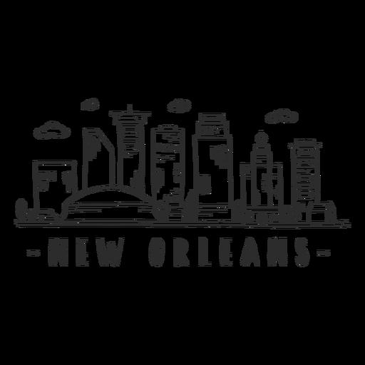 New Orleans Sky Scraper Skyline Sticker Ad Sponsored Affiliate Sky Sticker Skyline Orleans New Orleans Travel Diary Art Beautiful Easy Drawings