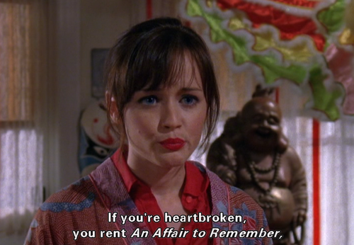 life lesson from Gilmore Girls