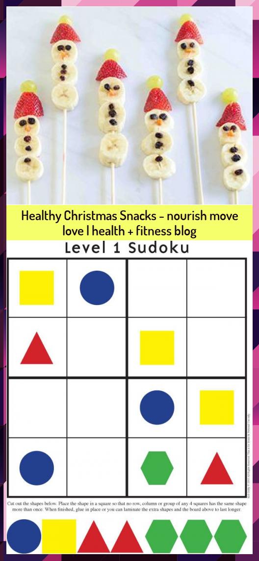 Healthy Christmas Snacks - nourish move love | health + fitness blog #blog #Christmas #fitness #heal...