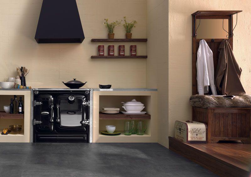 Lacunza cocina de le a certificada fabricada en hierro - Cocinas de obra rusticas ...