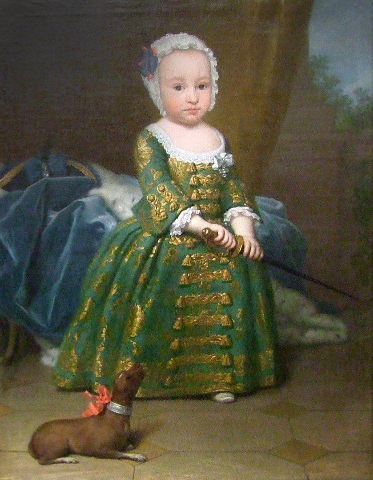 Billedresultat for green in portrait 18th century
