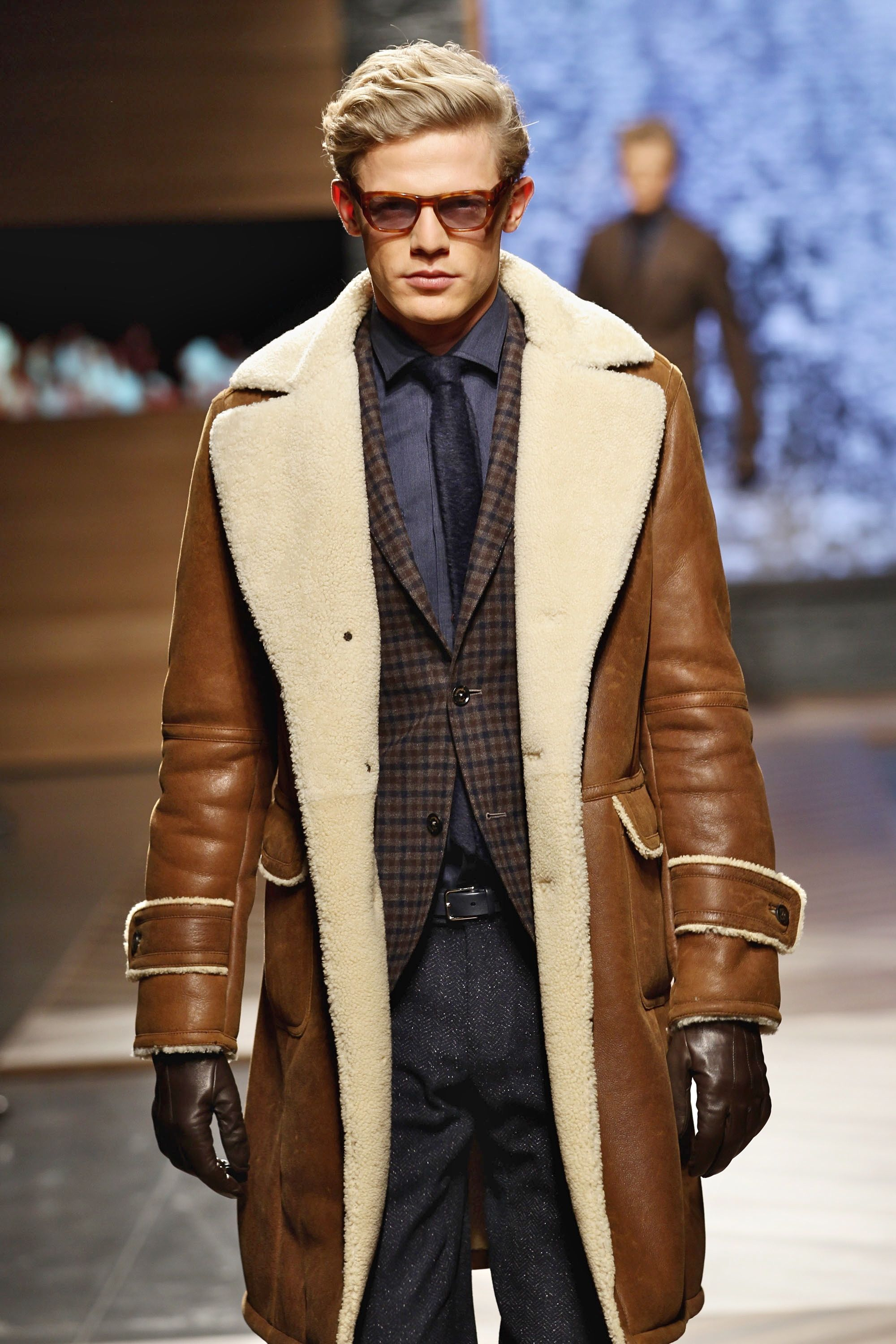 Men's Leather Coats and Jackets for Fall | Sheepskin coat, Aviator ...