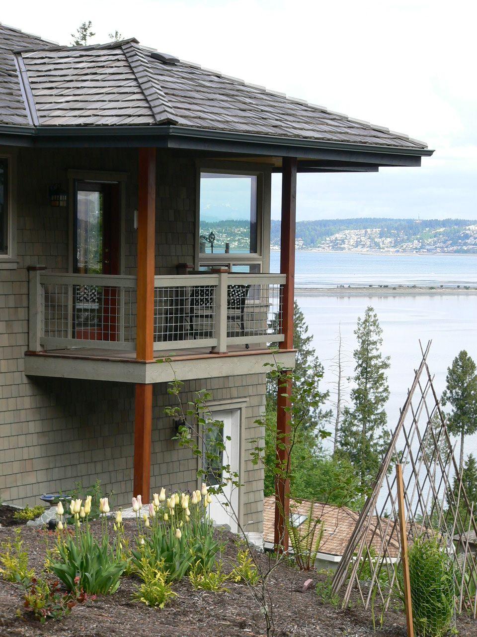 Semiahmoo Residence Small Balcony Design Balcony Design House With Balcony