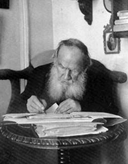 LEO TOLSTOY  Author of War and Peace and Anna Karenina