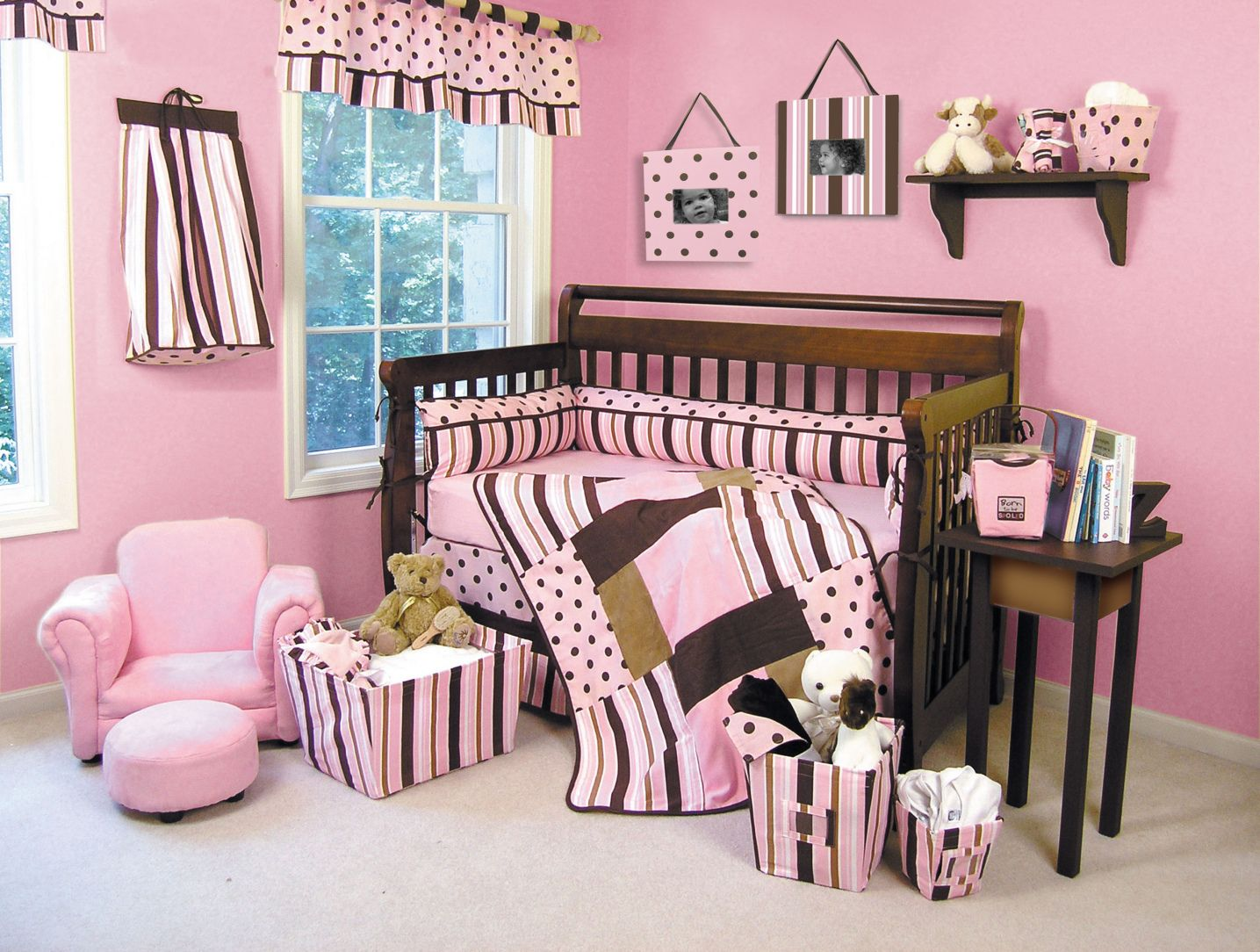 99+ Pink and Brown Baby Room - Best Paint to Paint ...