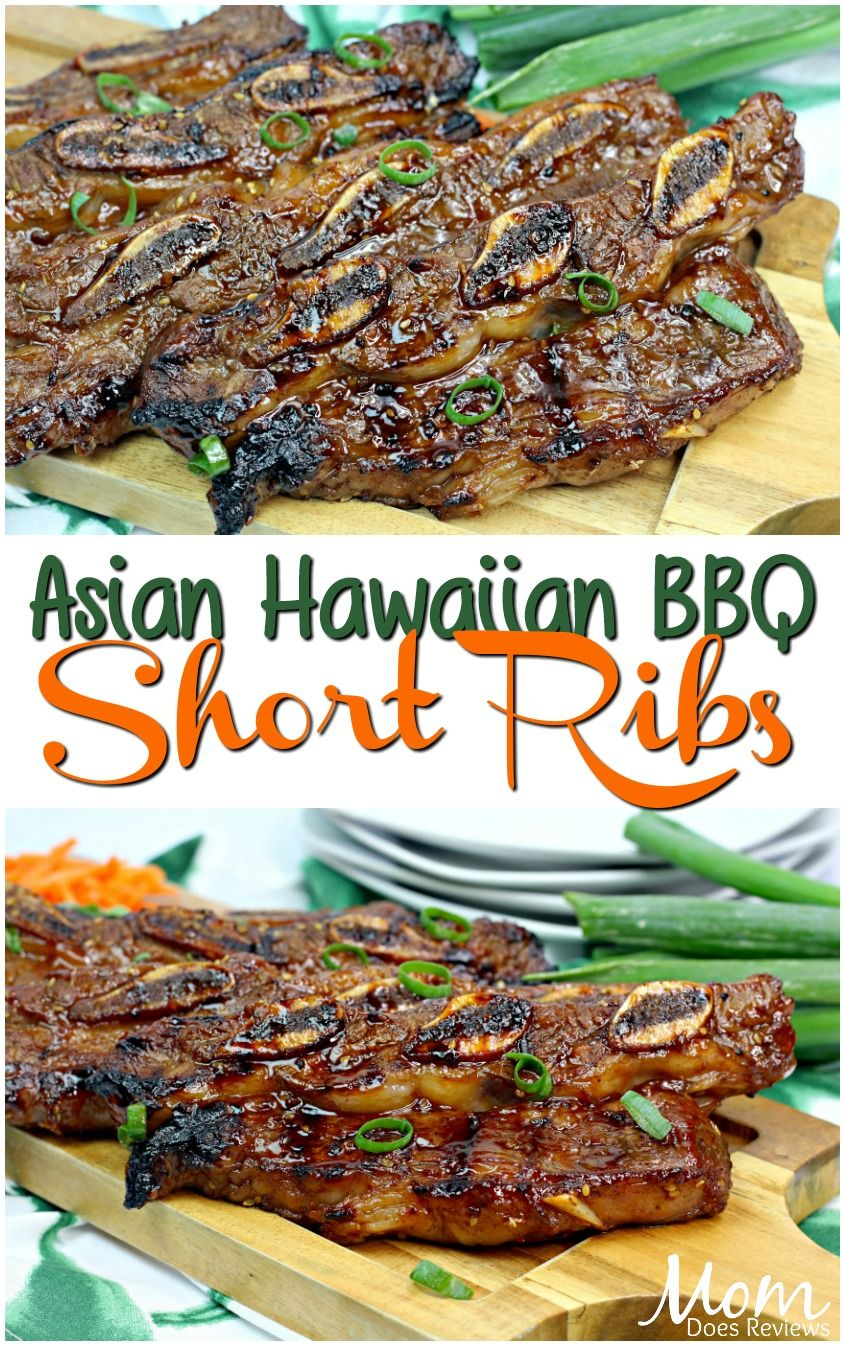 Asian Hawaiian BBQ Short Ribs