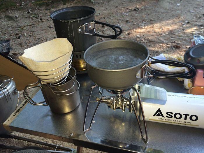 ハイキングやキャンプに 基本の 山ごはん 道具を揃えてみない