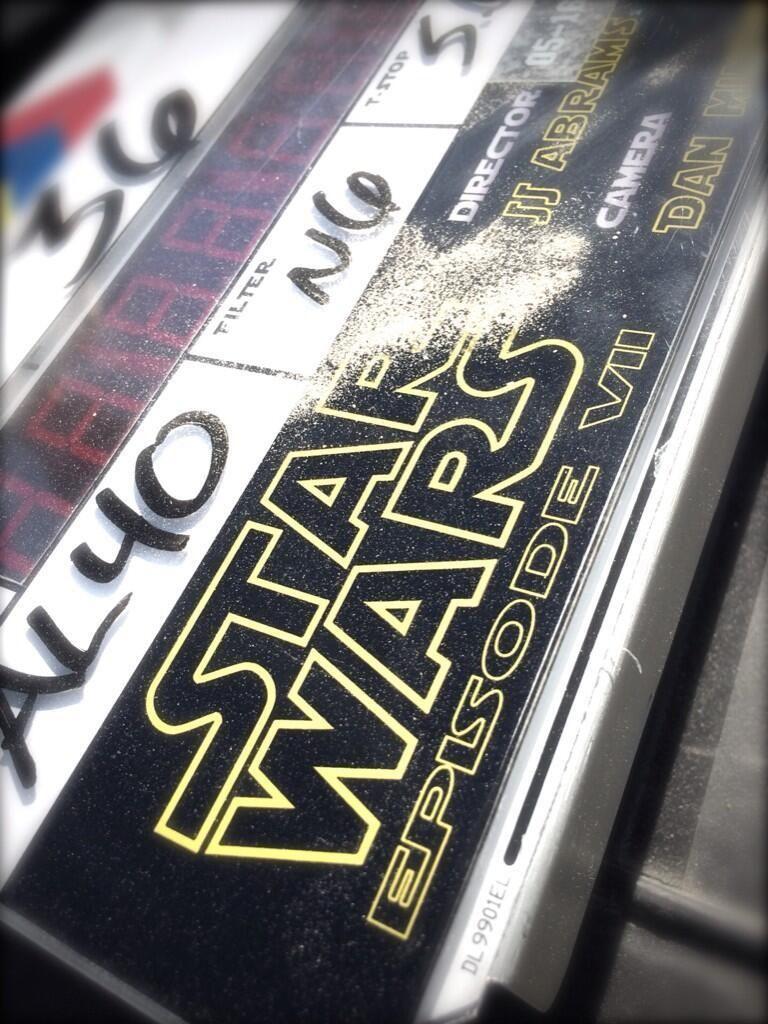 Star Wars: Episode 7 The Force Awakens Slate