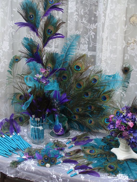 His Royal Majesty Peacock Decoration 50 Deposit By Ivyndell