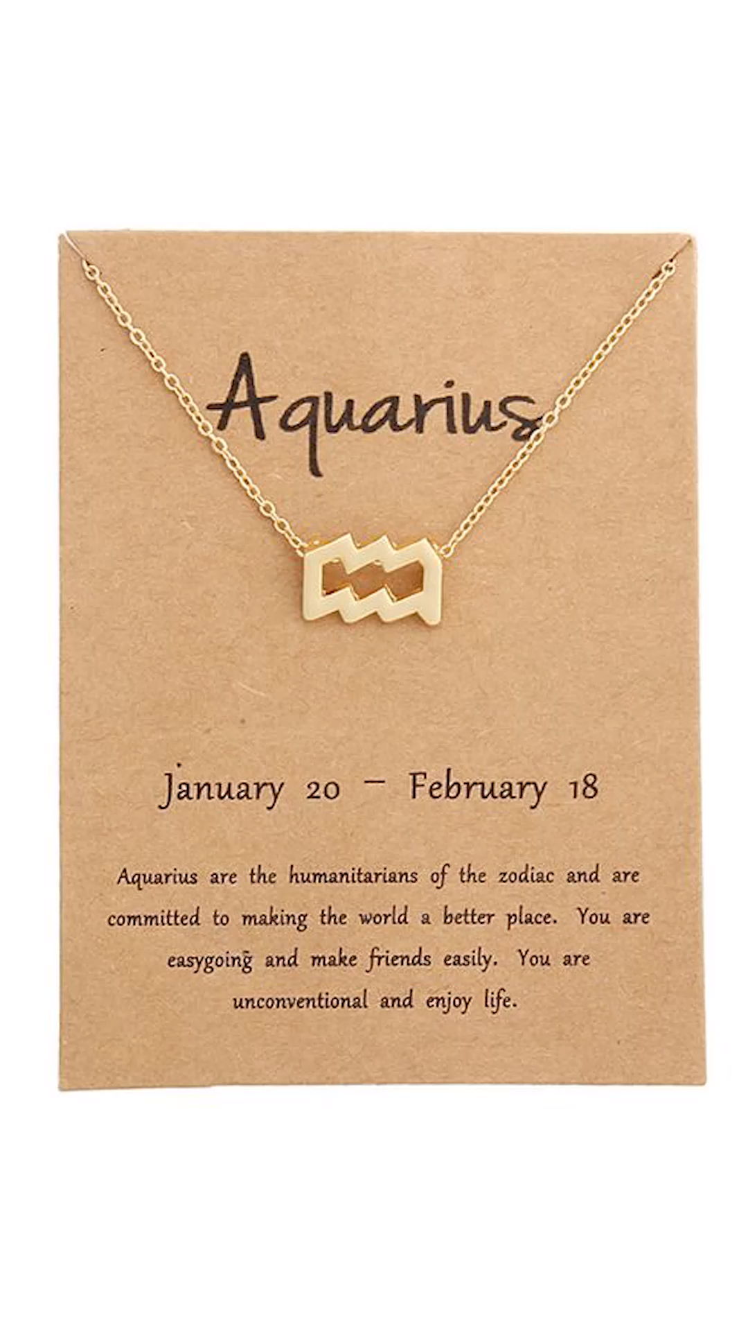 Have you seen these stunning Zodiac Necklaces? They make the perfect gift for someone you know, no matter the occasion. Each one has the symbol of your zodiac and comes with a card that tells you more about what that means for your personality!