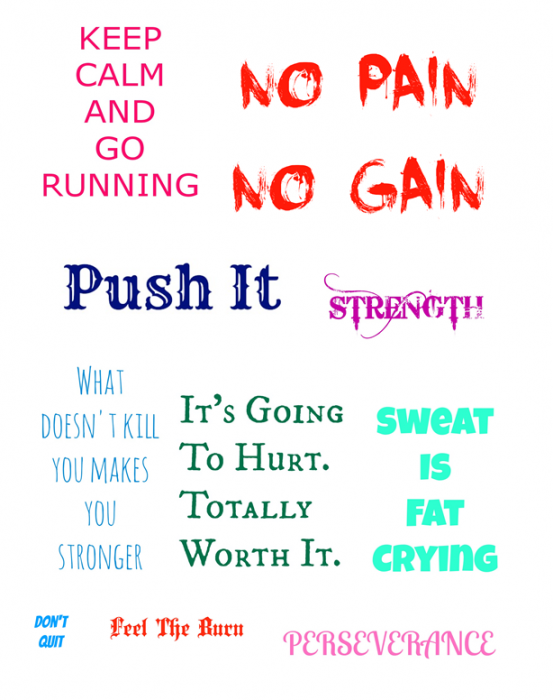 Getting Fit W Motivation Printable Subway Art Pinterest Clever Pink Pirate Fitness Motivation Quotes Motivation Fitness Motivation Pictures