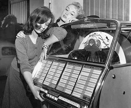 Image result for woman jukebox