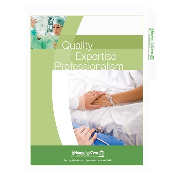 Folder Design Medical File Folders For Home Iv Care Folder Design Presentation Folder Folder Templates