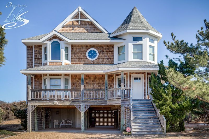 Sanderling Sea Glass Duck Nc Vacation Rentals Outer Banks Blue Vacation Rental Nc Vacation Rentals Cottages By The Sea