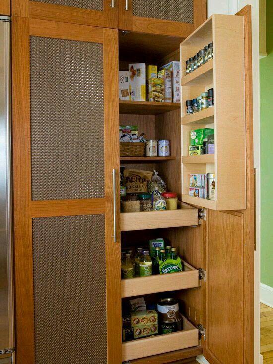 Mueble despensa Organising Pinterest Despensa, Cocinas y Alacena