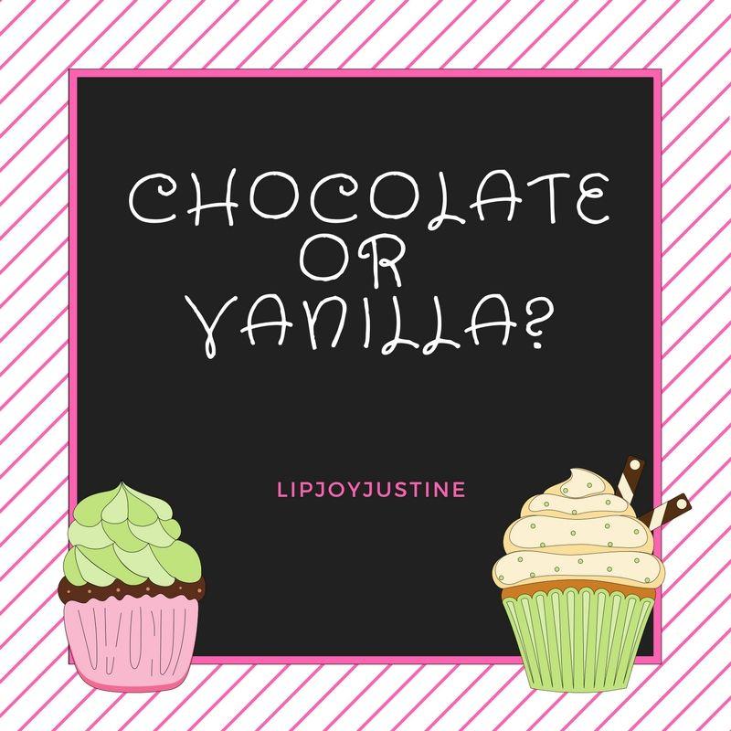 Interactive Social Media Post; Chocolate VS Vanilla, LipSense, LIPJOYJustine SeneGence Dist # 223623