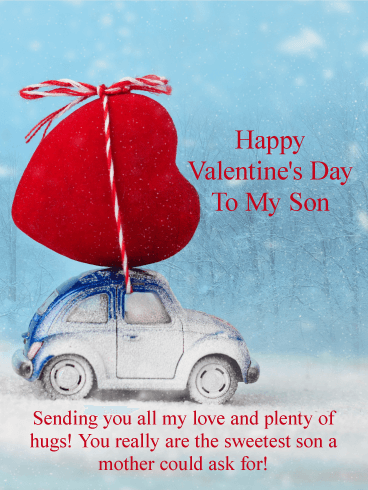 Sending You All My Love Happy Valentine S Day Card For Son Birthday Greeting Cards By Davia Happy Valentine Day Quotes Happy Valentines Day Son Happy Valentines Quotes
