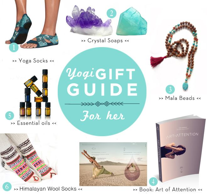 yoga christmas gifts