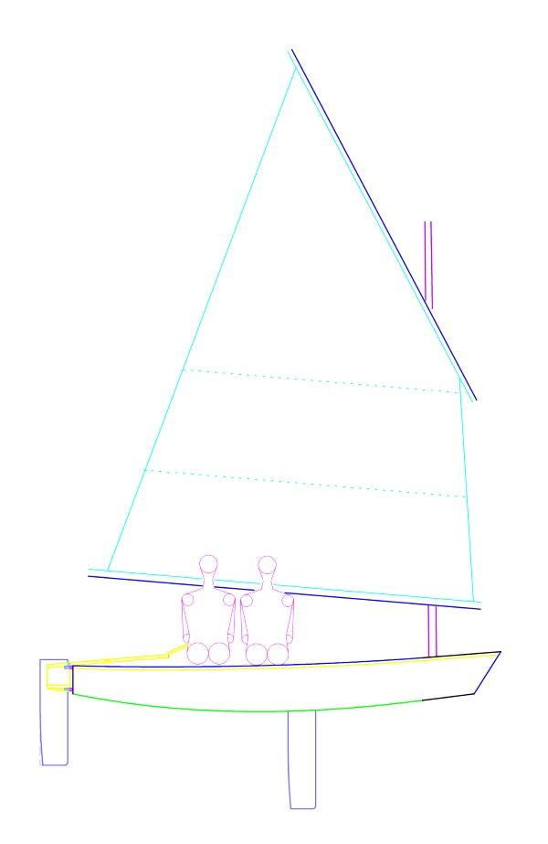 Sunfish Sailboat Diagram Goose Automotive Wiring Diagram