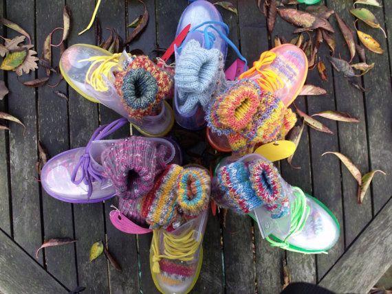 Сапоги и носки по RAGZDesign на Etsy
