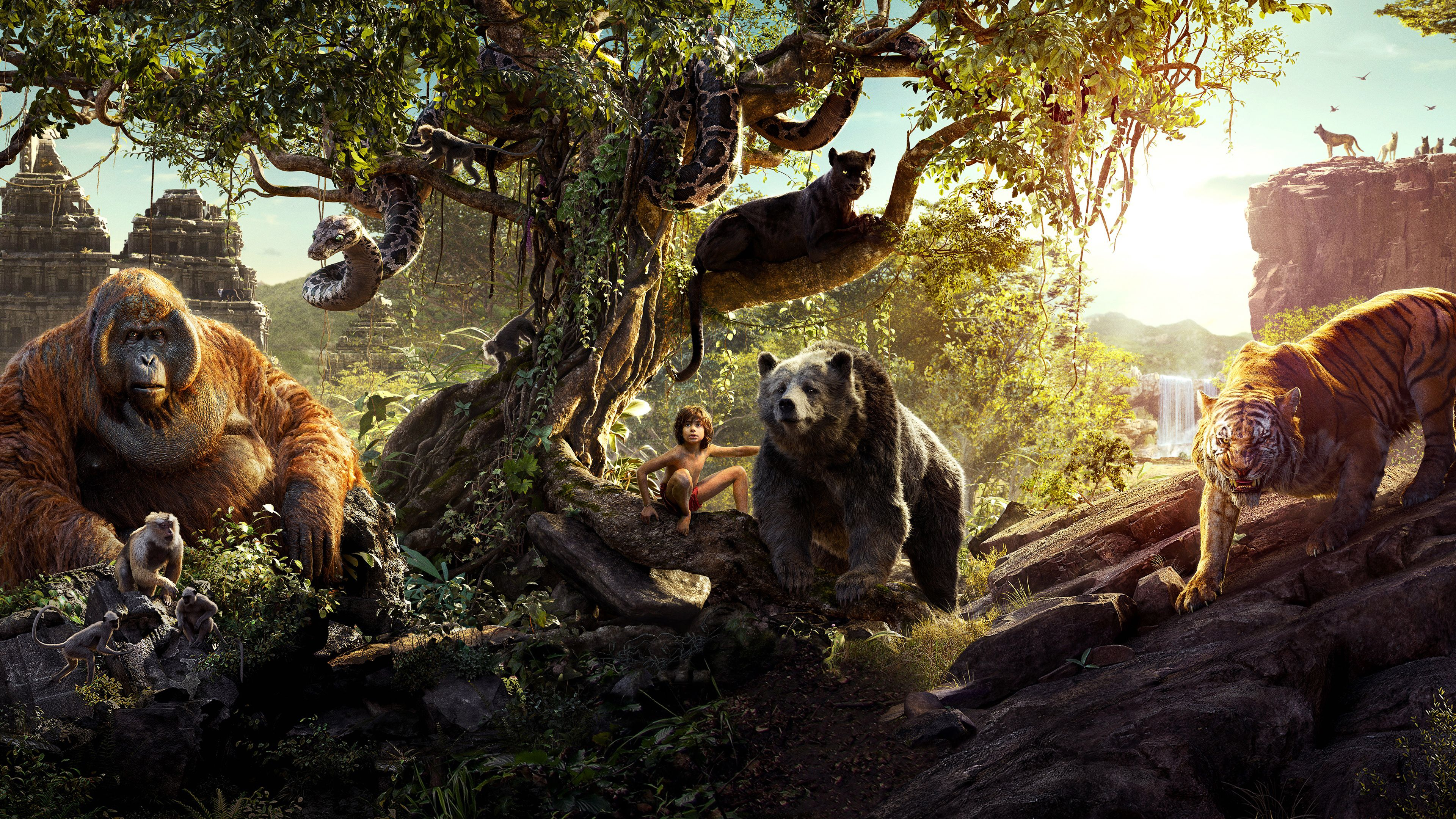 4k The Jungle Book 2016 Wallpaper By Nicolaslfbv Uhd Wallpapers