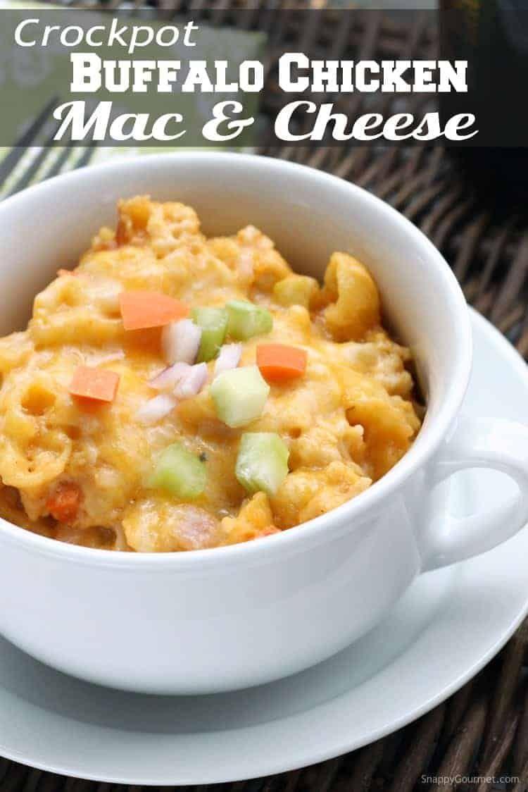 Buffalo chicken mac and cheese crockpot recipe the