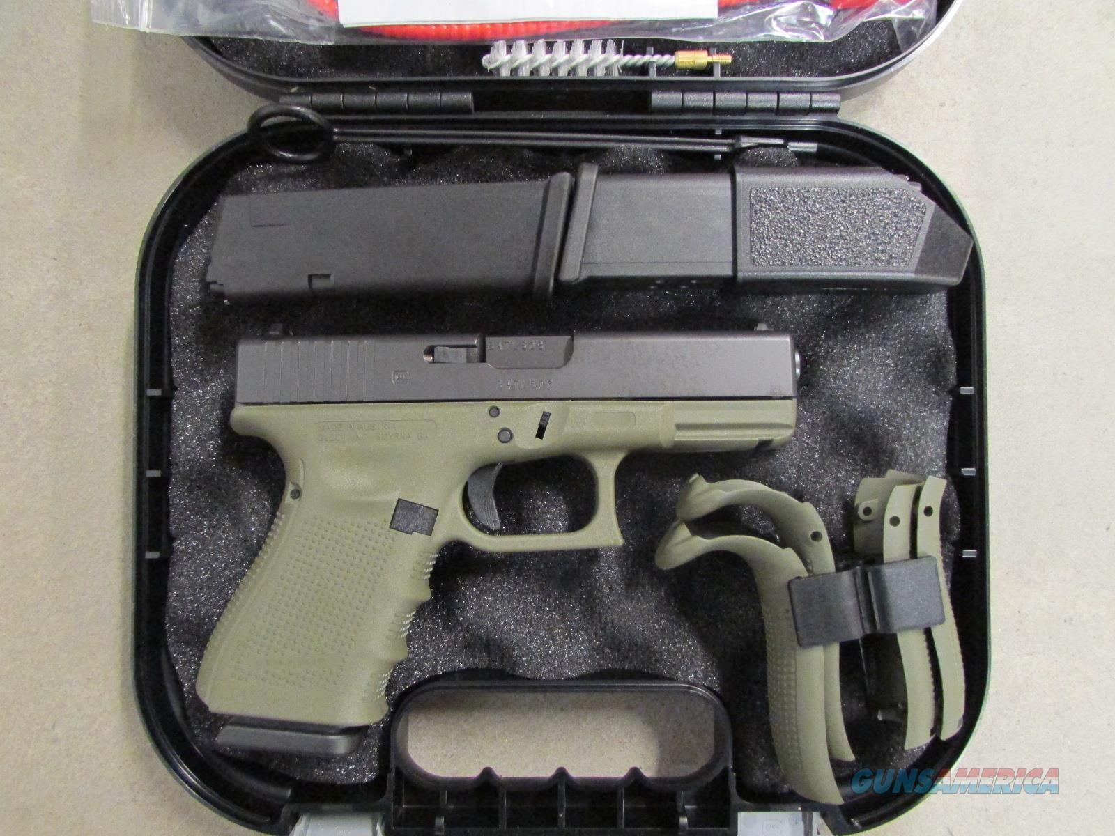 Glock 23 G23 Gen4 Battlefield Green Frame .40 S&W PG235... Loading ...