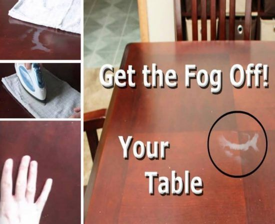 Learn How To Remove Watermarks From Wood Table Tops With This Quick And Easy Method That Really Works You Will Be Thrilled The Results