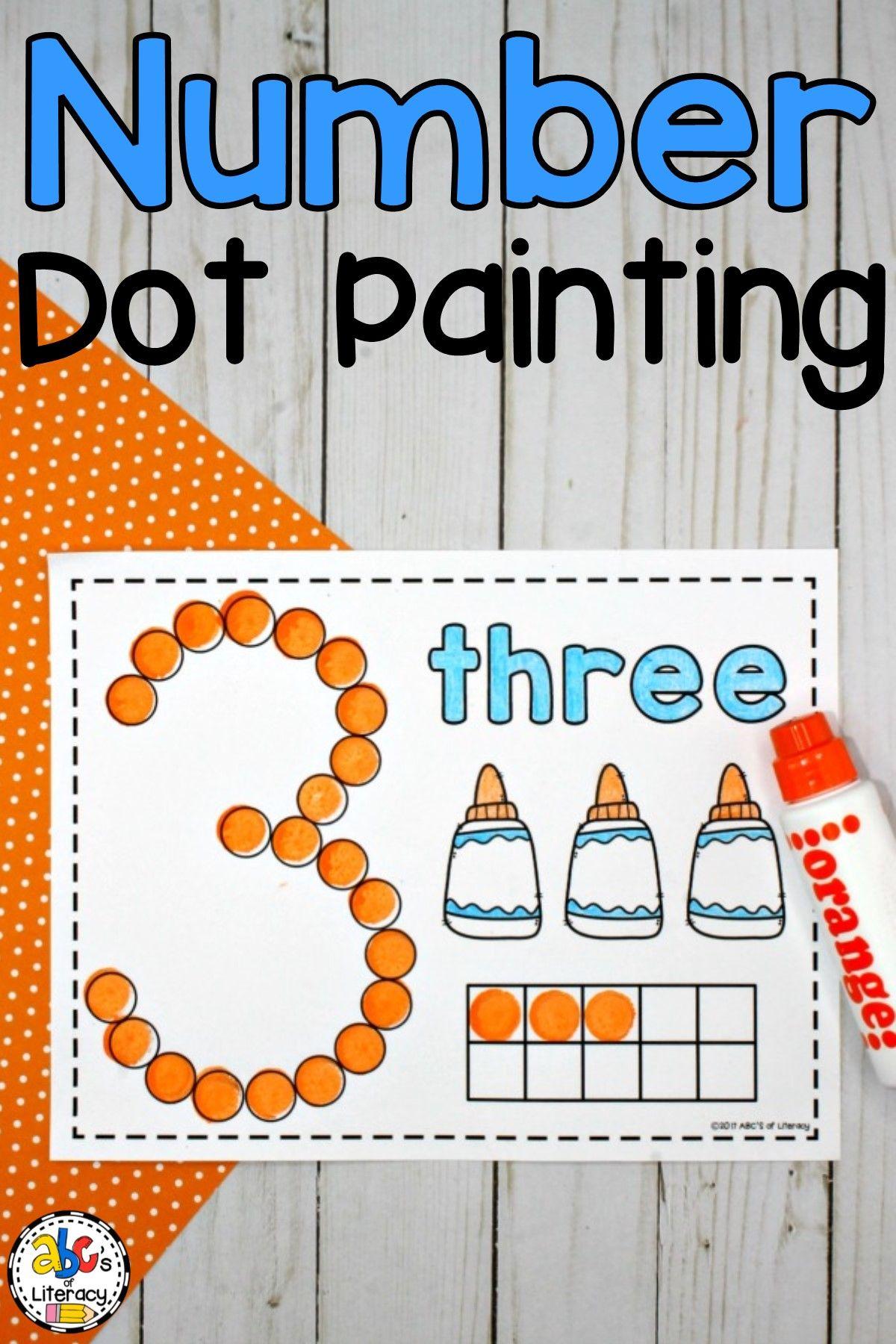 Number Dot Painting Bingo Dauber Activities Bingo Dauber Dauber Activities [ 1800 x 1200 Pixel ]