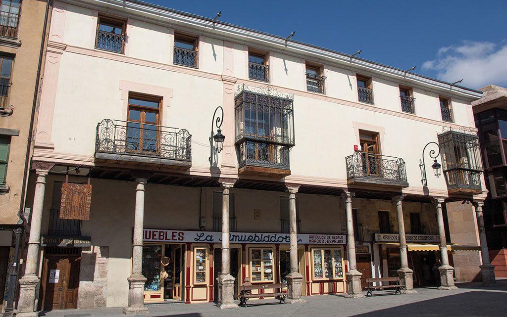 Casa de los Fantasmas en Aranda de Duero Casas, Palacios