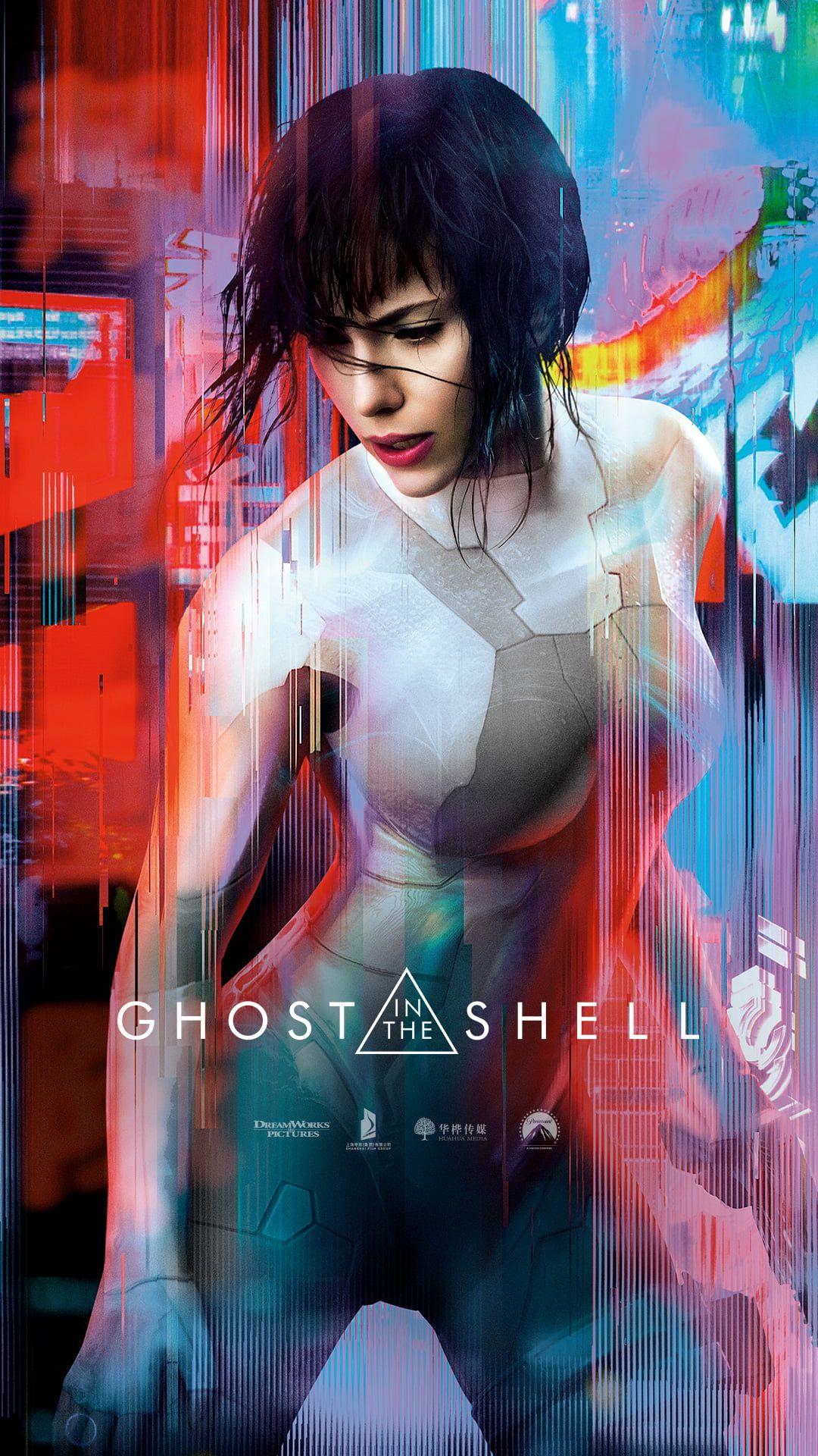 Ghost In The Shell Wallpaper Scarlett Johansson Movies Kusanagi