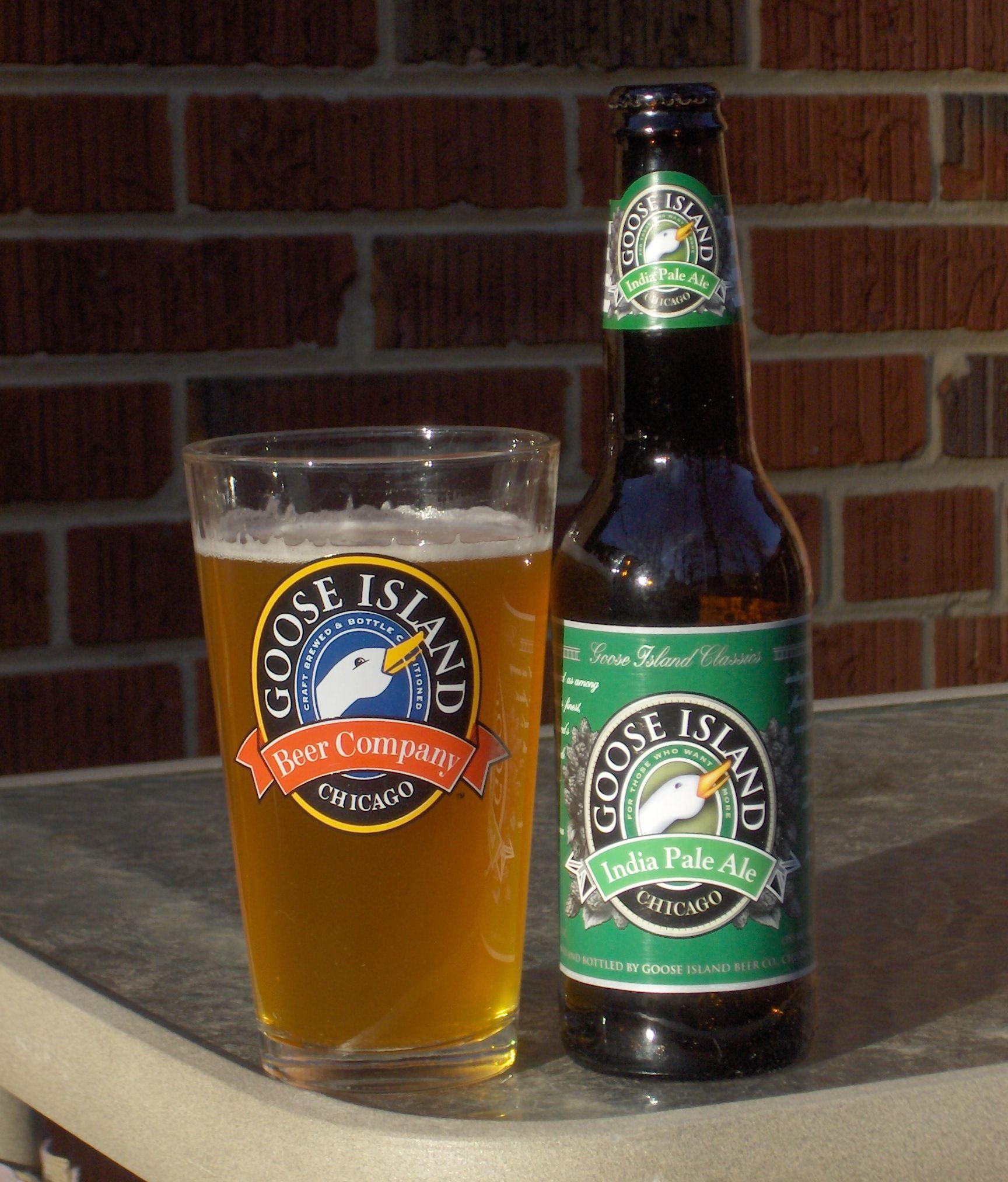 Goose Island Brewery - Goose Island IPA 5,9% 33,5cl Akin tuoma pullo jaettu Akin ja Kaiman kanssa 8.4.2012 Kotona