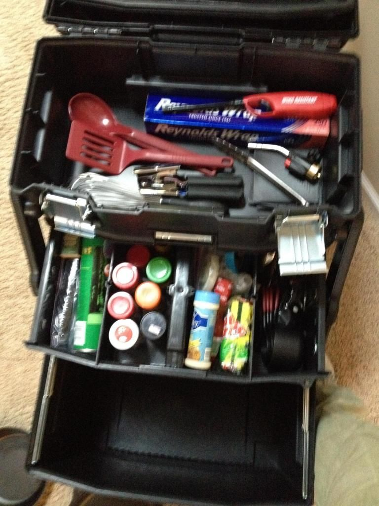 Craft box on wheels - Camp Kitchen Organization Stanley Fat Max Tool Box On Wheels