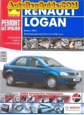 Download Free Renault Dacia Logan 2004 Repair Manual Image By Autorepguide Com Dacia Logan Renault Logan