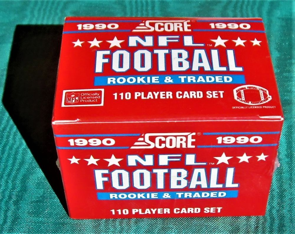 1990 score update football set emmitt smith rookie cowboys