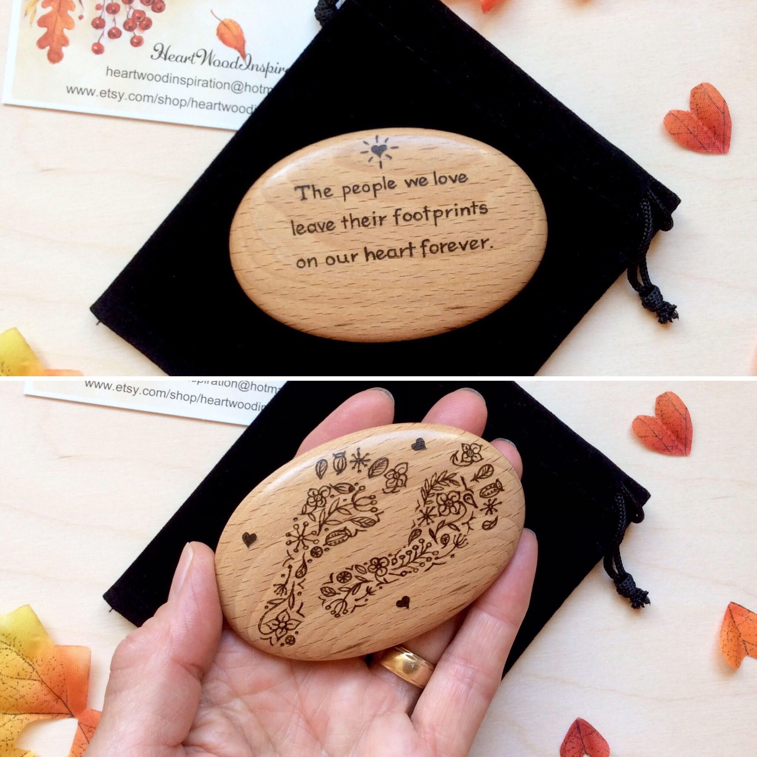 In Memory Of A Loved One Pebble For Dad Mum Friend Gift