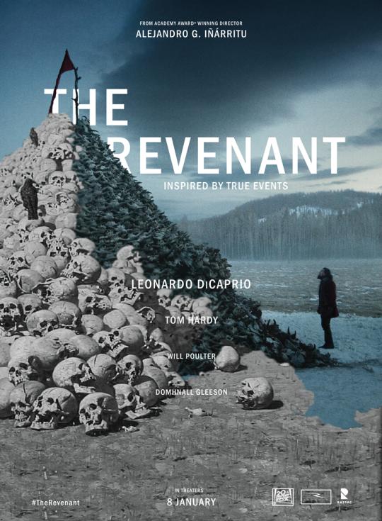 The Revenant Leonardo DiCaprio Hot Movie Poster Art Decor 002