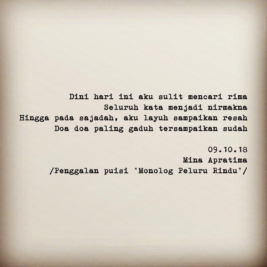 Puisi Sajak Syair Quotes Kumpulan Puisi Sajak Puisi Doa