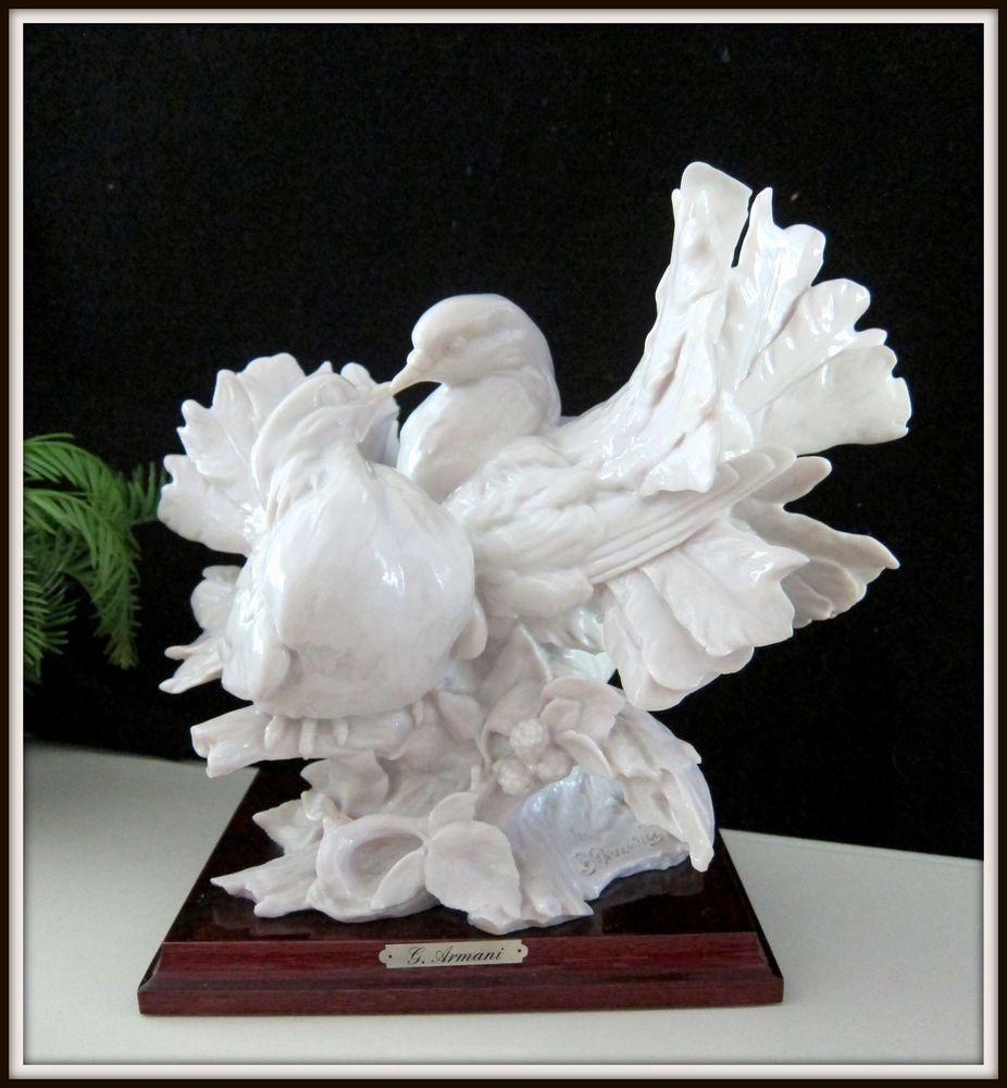 Giuseppe Armani Bird Figurines