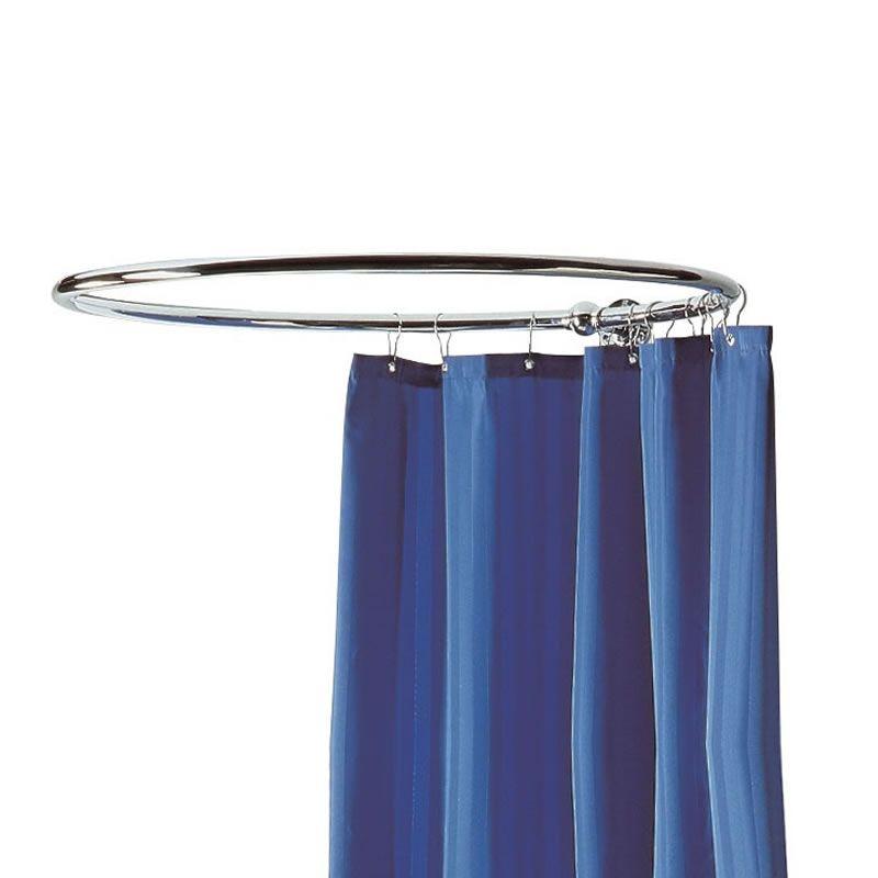 Tringle rideau de douche rond en 2019 salle de bain - Tringle a rideau circulaire ...