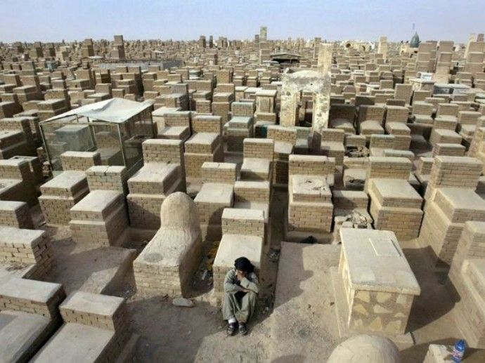Valley Of Peace Wadi AlSalaam An Islamic Cemetery In Najaf - Wadi us salaam google maps