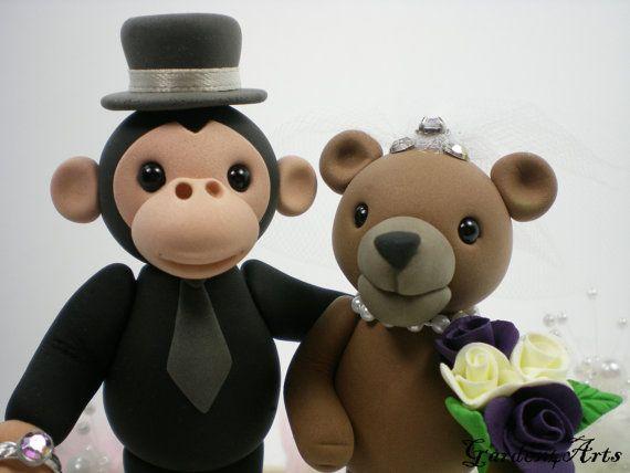 a monkey and a bear...