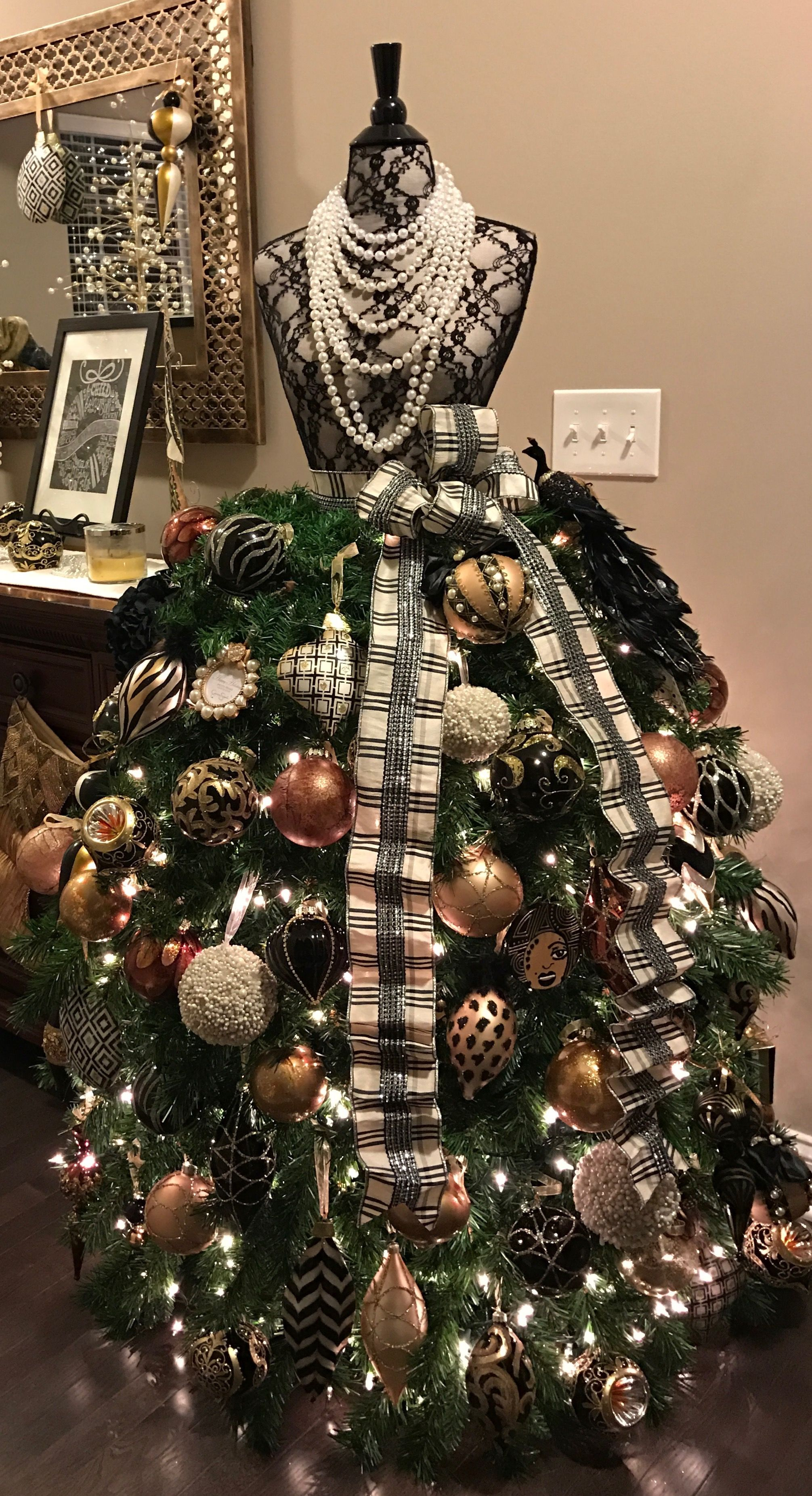 The 10 Best Grand Diva Style Dress Form Christmas Trees Dress Form Christmas Tree Mannequin Christmas Tree Christmas Tree Dress